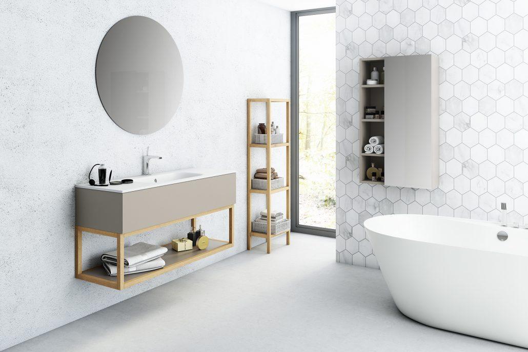 Muebles de ba o mamparas platos de ducha castell n for Decoracion de banos completos